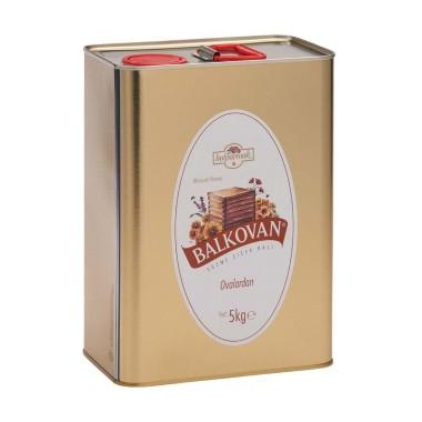 Balkovan - Balparmak Balkovan Süzme Çiçek Balı 5 Kg