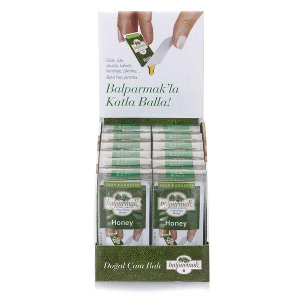 Balparmak Katla Balla Süzme Çam Balı <br/> 7 g x 7 12'li Paket